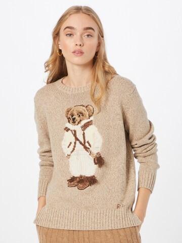 smėlio Polo Ralph Lauren Megztinis