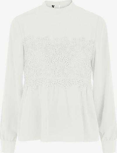 PIECES Bluse 'Kamilla' in weiß, Produktansicht