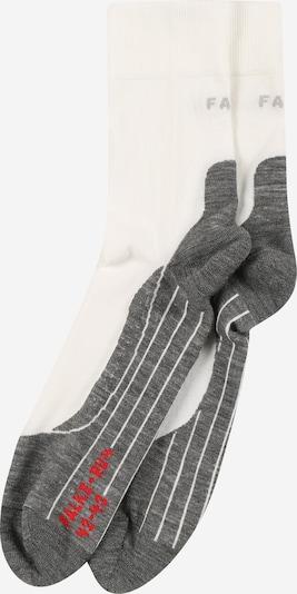 FALKE Sportsocken 'RU4' in grau / weiß, Produktansicht