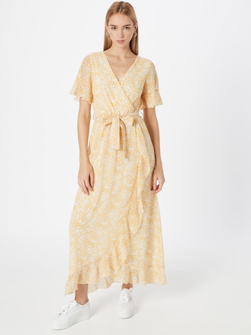 SISTERS POINT Shirt Dress 'GUSH' in Yellow