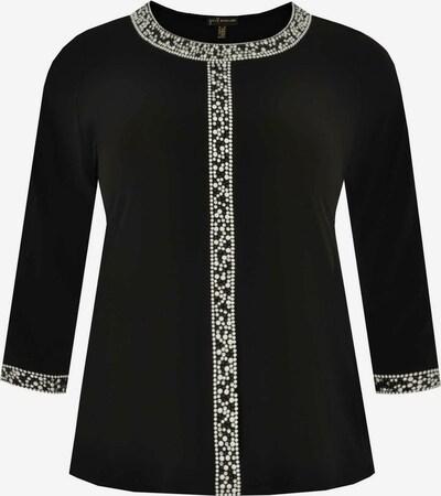 Yoek Bluse in schwarz / weiß, Produktansicht