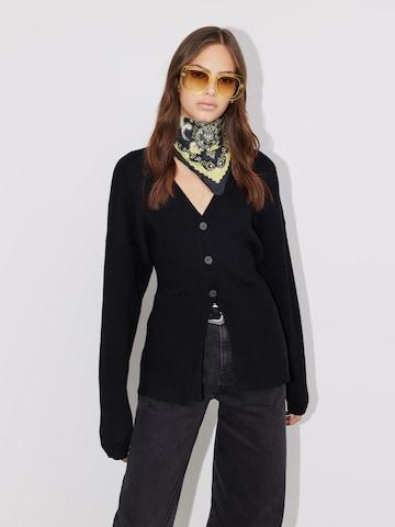 LeGer by Lena Gercke Knit Cardigan in Black