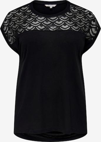 T-shirt 'FLAKE' ONLY Carmakoma en noir