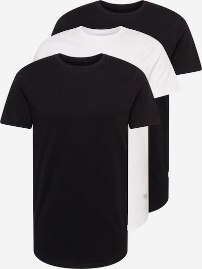 JACK & JONES Tričko 'NOA' - čierna / biela, Produkt