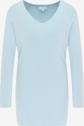 usha BLUE LABEL Sweater in Light blue / White, Item view