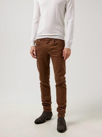 J.Lindeberg Jeans in braun, Modelansicht
