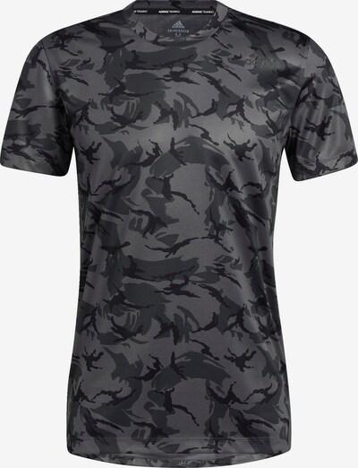ADIDAS PERFORMANCE T-Shirt fonctionnel en gris / anthracite / noir, Vue avec produit