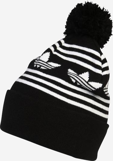 ADIDAS ORIGINALS Mütze in schwarz / weiß, Produktansicht