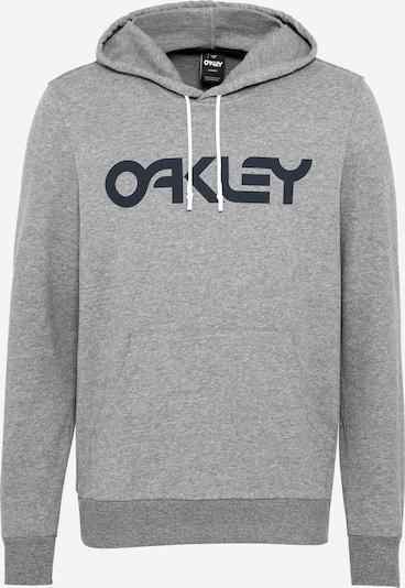 OAKLEY Sport-Sweatshirt in dunkelblau / graumeliert, Produktansicht