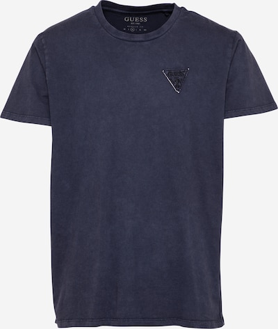 GUESS Majica   mornarska / črna barva, Prikaz izdelka