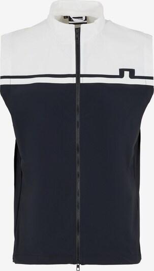 J.Lindeberg Bodywarmer in de kleur Zwart, Productweergave