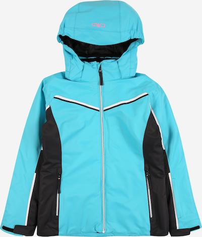 CMP Sport-Jacke in türkis / hellpink / schwarz / weiß, Produktansicht