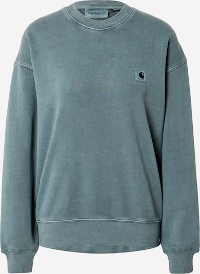 Carhartt WIP Sportisks džemperis 'Nelson', krāsa - smaragda, Preces skats