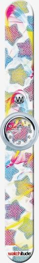 watchitude Armbanduhr in mischfarben / weiß, Produktansicht