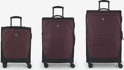 Gabol Ensemble de bagages en violet, Vue avec produit