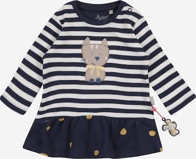 SIGIKID Kleid in nachtblau / senf / puder / pastellpink / weiß, Produktansicht