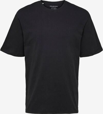 SELECTED HOMME T-Shirt en noir, Vue avec produit