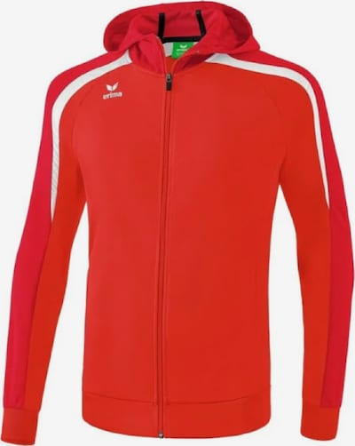 ERIMA Trainingsjacke ' Liga Line' in rot / weiß, Produktansicht