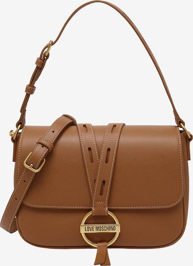 Love Moschino Tasche in dunkelbeige, Produktansicht