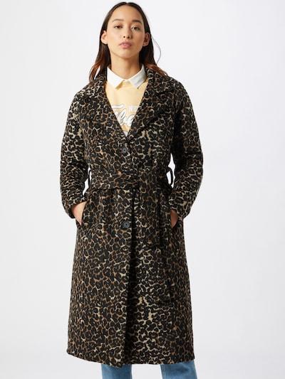 OBJECT Übergangsmantel 'Lena' in beige / braun / schwarz, Modelansicht