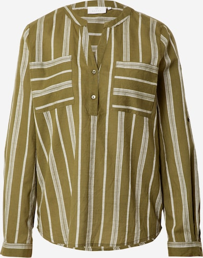 Kaffe Blouse 'Sandy' in grey / olive, Item view