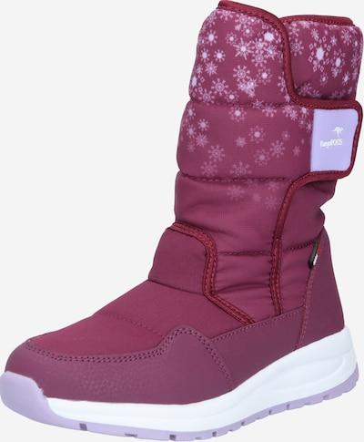 KangaROOS Snowboots in lavendel / fuchsia, Produktansicht