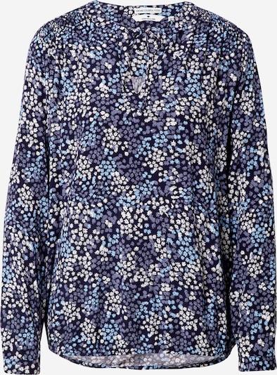 TOM TAILOR Bluse in blau / himmelblau / weiß, Produktansicht