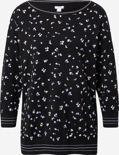 OVS Sweatshirt in creme / himmelblau / schwarz, Produktansicht