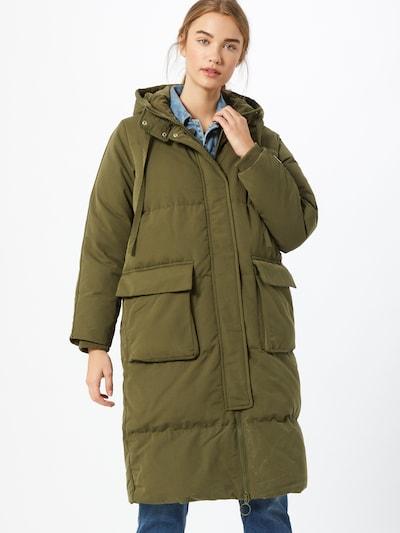 GAP Mantel in oliv, Modelansicht