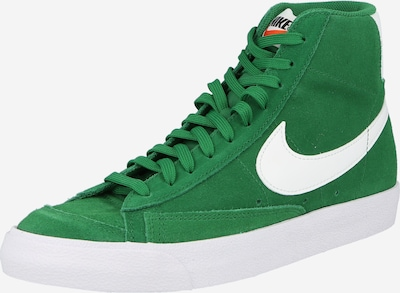 Nike Sportswear Sneaker in dunkelgrün / weiß, Produktansicht