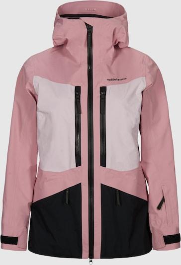 PEAK PERFORMANCE Hardshelljacke 'GRAVITY' in rosa / schwarz, Produktansicht