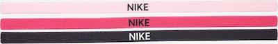 NIKE Accessoires Bandeau de sport en graphite / rose / rose / blanc, Vue avec produit