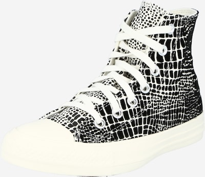 CONVERSE Sneaker high 'CHUCK TAYLOR ALL STAR' i sort / hvid, Produktvisning
