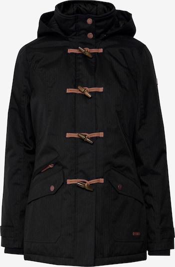 Oxmo Parka 'BROOKE' in schwarz, Produktansicht