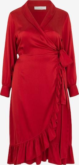 INAN ISIK Seidenkleid 'Audre' in rot, Produktansicht