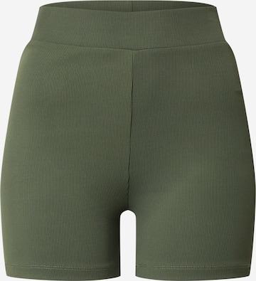 Pantalon de sport 'Laureen Shorts' ABOUT YOU en vert
