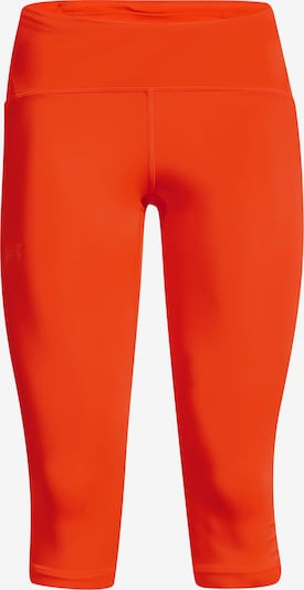 UNDER ARMOUR Sporthose 'Fly Fast' in orange / schwarz / weiß, Produktansicht