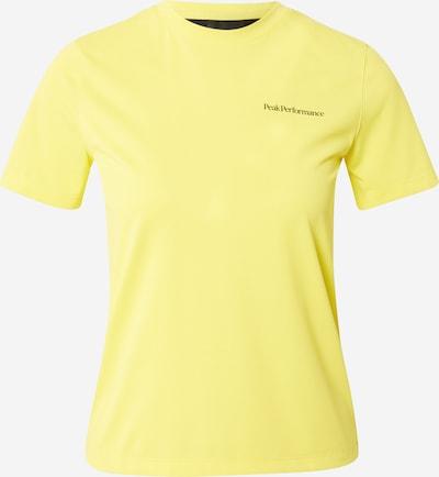 sárga / fekete PEAK PERFORMANCE Funkcionális felső 'Alum', Termék nézet