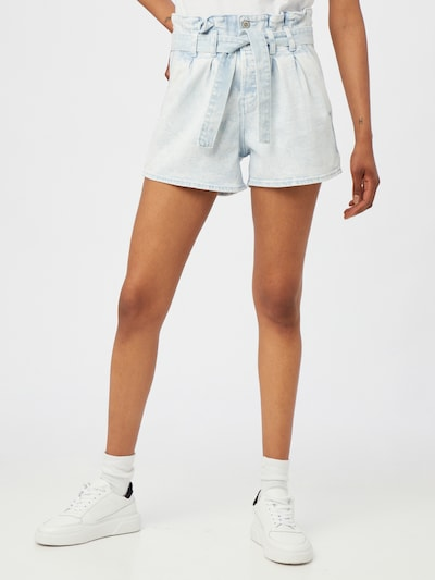 HOLLISTER Pleated Jeans in Light blue, View model