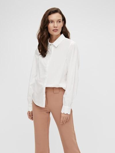 Y.A.S Bluza 'Bella' | bela barva, Prikaz modela