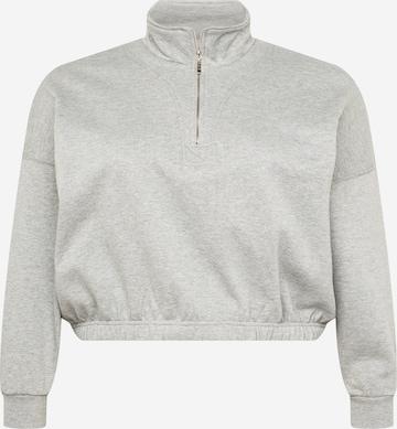 Cotton On Curve Sweatshirt in Grau