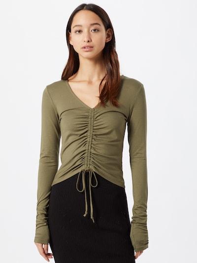 ONLY Shirt 'Windy' in de kleur Olijfgroen, Modelweergave