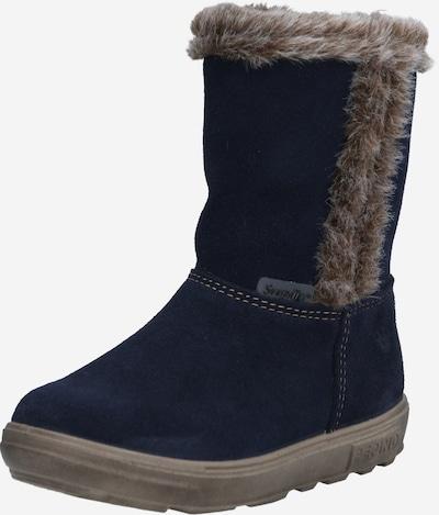 Pepino Botas de nieve en azul noche / marrón, Vista del producto