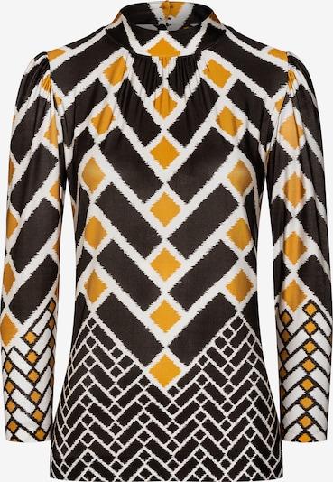 Ana Alcazar Shirt 'Betta' in dunkelbraun / gelb, Produktansicht