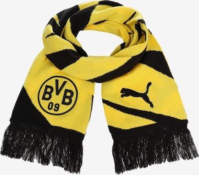 PUMA Schal 'BVB' in gelb / schwarz, Produktansicht