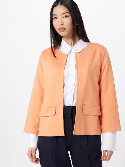 OPUS Blazer 'Jelina' in orange, Modelansicht