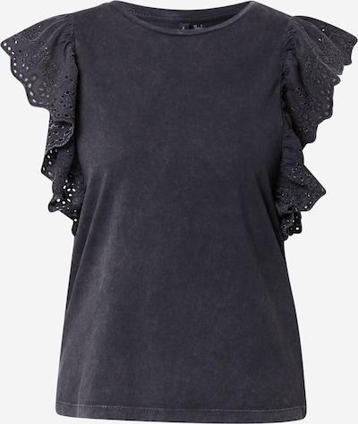 VERO MODA Shirt 'FOREVER' in schwarzmeliert, Produktansicht