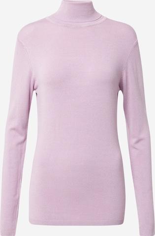 ICHI Sweater 'MAFA' in Purple