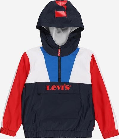 Geacă de primăvară-toamnă LEVI'S pe albastru / albastru noapte / roșu / alb, Vizualizare produs