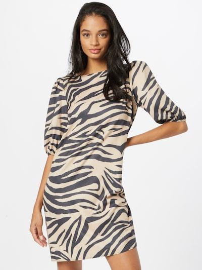 Lipsy Kleid in camel / schwarz, Modelansicht